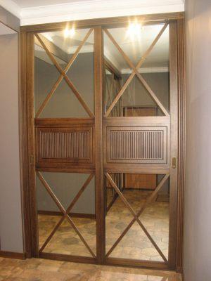 Шкаф купе шпонированный с делитель наклейками Чебоксары