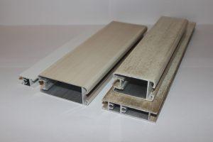 Профиль алюминиевый для шкафа купе, межкомнатных перегородок эмаль +патина Чебоксары