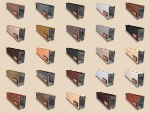 """Алюминиевый ламинированный профиль """"HOLZ"""" для шкафов купе и межкомнатных перегородок Более 100 цветов Чебоксары"""