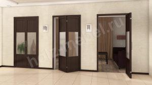 Двери гармошка Чебоксары