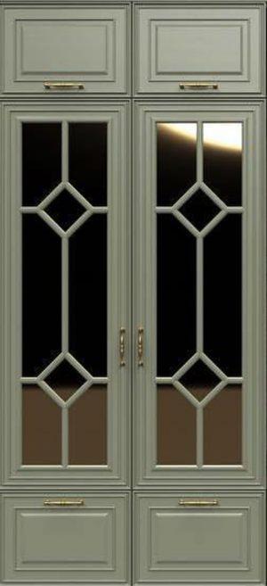 Фасад с фигурной филенкой эмаль Чебоксары
