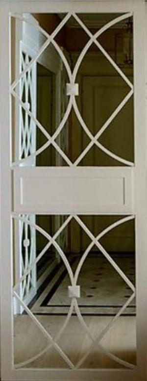 Вставка с фигурной филенкой на зеркале эмаль Чебоксары