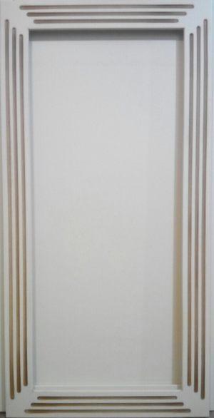 Рамочный фасад с фрезеровкой 2 категории сложности Чебоксары