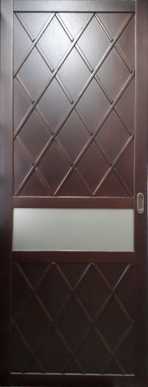 Вставка в дверь с фигурной филенкой Чебоксары